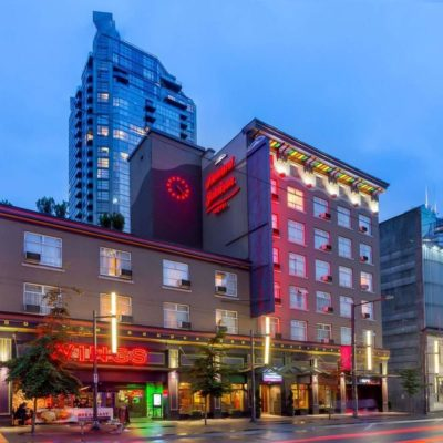 1176-1150 Granville Street - Howard Johnson Hotel